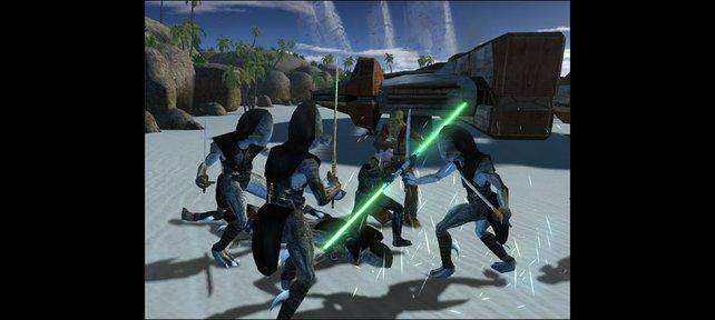 Im Rollenspiel Knights of the Old Republic steht es euch frei, gut oder böse zu handeln.