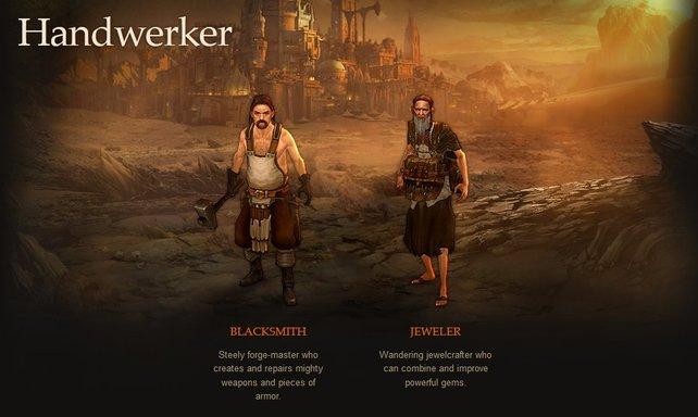 Diese beiden Handwerker stehen euch zur Seite.