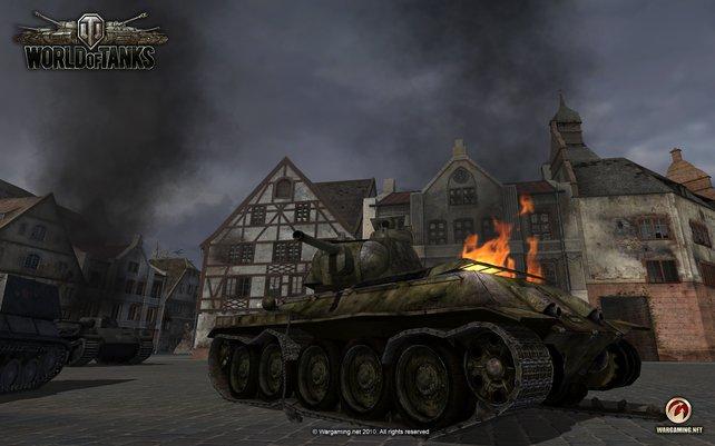 In einigen Spielen wie World of Tanks könnt ihr die Währung direkt vom Anbieter erwerben.