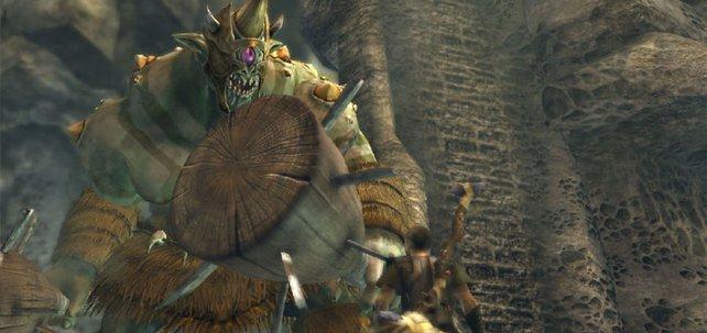 Groß gegen klein: Perseus muss sich 100 unterschiedlichen Gegnern stellen.