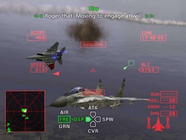 Und hier ist euer neuer Flieger bereits voll im Einsatz