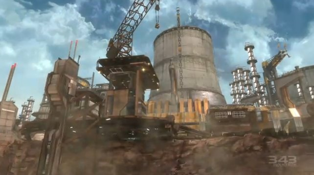 Stillgelegte Industrie-Anlagen sind in Halo beliebt.