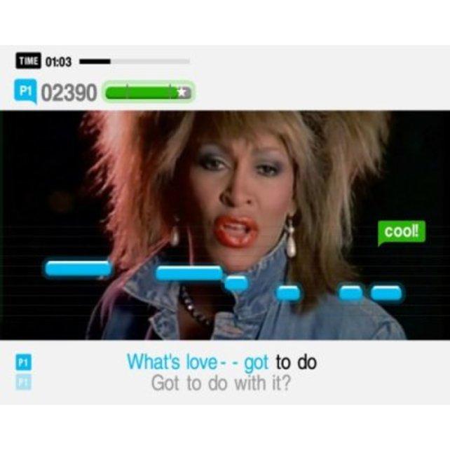 """Auch Tina Turner ist wieder vertreten, diesmal mit ihrem Hit """"What's Love got to do with it"""""""
