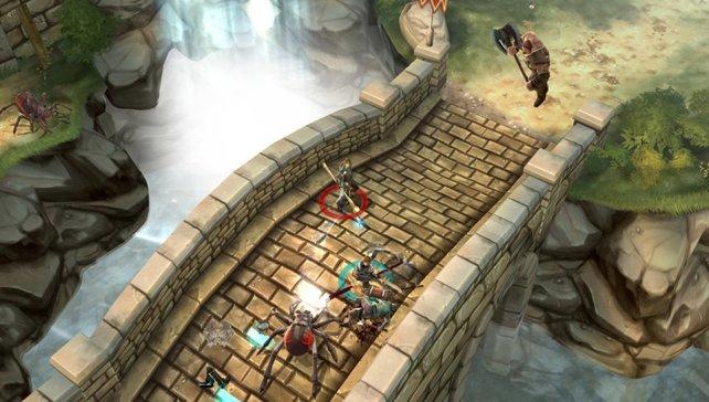 Das Action-Rollenspiel Dungeon Hunter Alliance macht besonders zu viert Spaß.