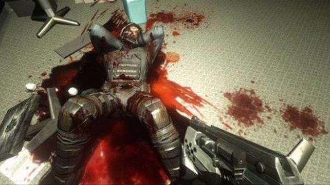 Horror im Labor: Nichts für Spieler, die kein Blut sehen können.