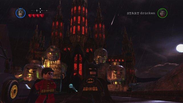 Lego trifft GTA - Gotham City ist frei erkundbar.