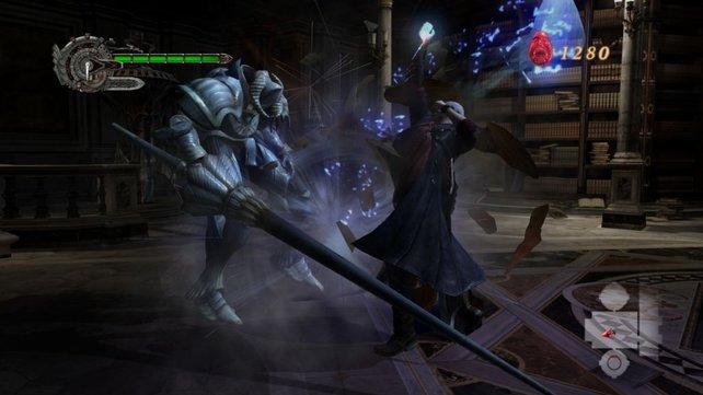 Die Ritter sind die ersten ernstzunehmenden Feinde im Spiel