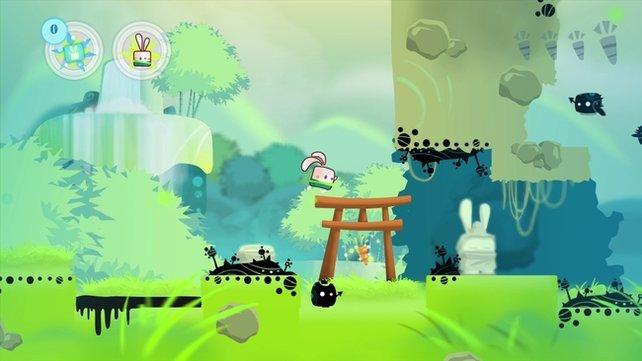 Die Welt der Kung Fu Hasen ist asiatisch angehaucht.