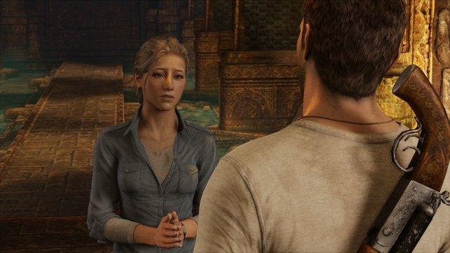 Elena spielt eine große Rolle in Uncharted 3. Ob ihre Beziehung standhält?