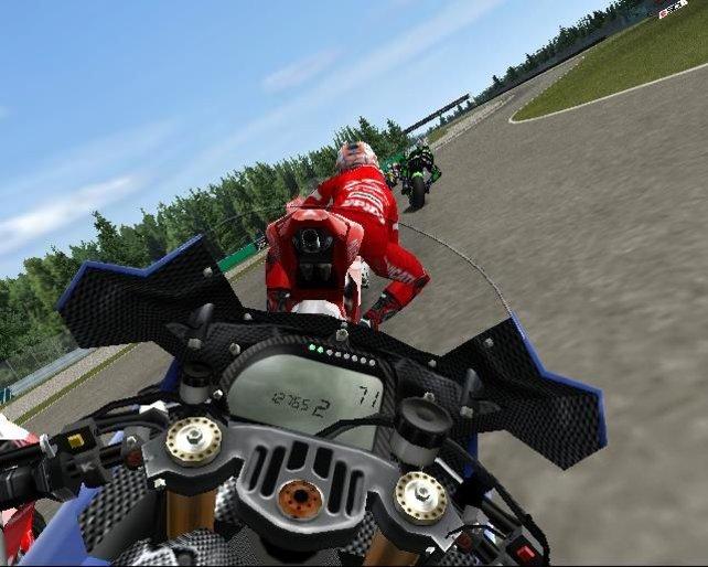 In der Cockpitansicht ist das Geschwindigkeitsgefühl am intensivsten.