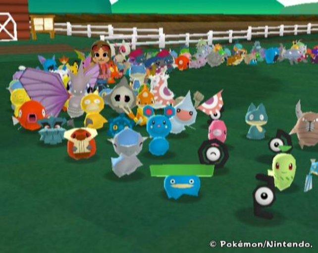 Hier versammeln sich eure Pokémon auf eurer eigenen Farm.