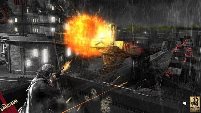 """""""Saboteur"""" bietet harte Action und viele Explosionen"""