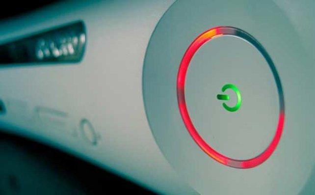 """Der """"Red Ring of Death"""" ist ein häufiger Defekt bei der ersten Generation der Xbox 360."""