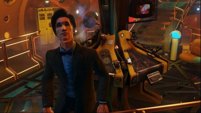 Der Playstation-Doctor sieht seinem Urbild recht ähnlich.