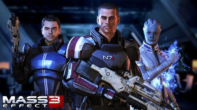 Mit welcher Partnerin oder welchem Partner geht Shepard ins Finale der Trilogie? Das hängt von euch ab.