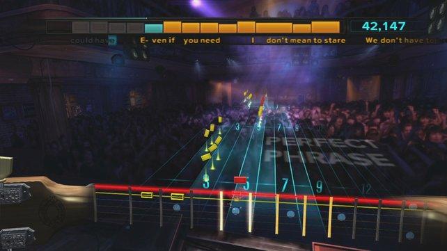 Rocksmith ist wie Guitar Hero, nur ein bisschen komplizierter.