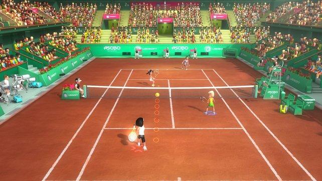 Selbst zu viert langweilt Racket Sports zum größten Teil.