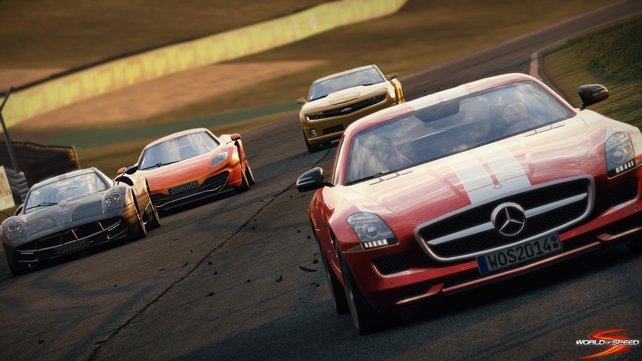 World of Speed bietet euch spannende Online-Rennen.