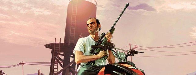"""GTA 5: """"Echter"""" Trevor Phillips schreit Spieler auf Comic-Con an (Video)"""