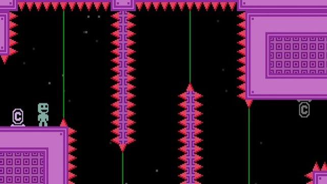 VVVVVV ist grafisch einfach, spielerisch aber hochkomplex.