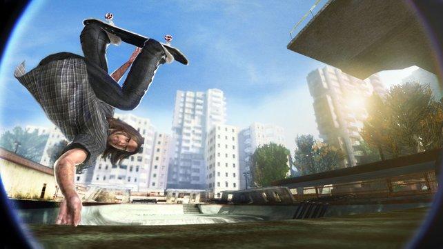"""Ganz oben ist es einsam: """"Skate 2"""" ist zurzeit konkurrenzlos."""