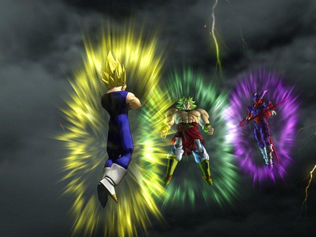 DBZ: Budokai Tenkaichi 3 bietet mehrere Großfamilien als Kampffiguren.