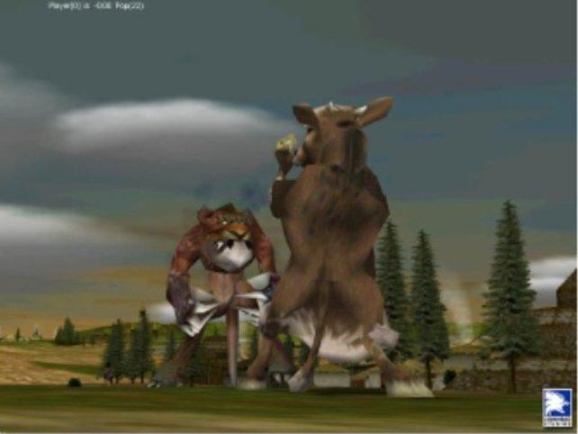 Kuhzilla gegen eine Bestie