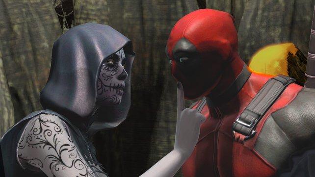 Alle weiblichen Wesen stehen auf Deadpool. Das ist jedenfalls seine Meinung.