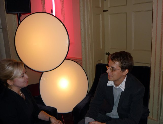 Jochen Gebauer im Gespräch mit Alison Turner.