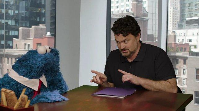 Tim Schafer (rechts) hält sich über Details zu seinem Projekt noch bedeckt.