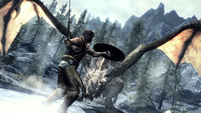 Auf der E3 gab es einige wenige neue Informationen zu Rollenspiel Skyrim.