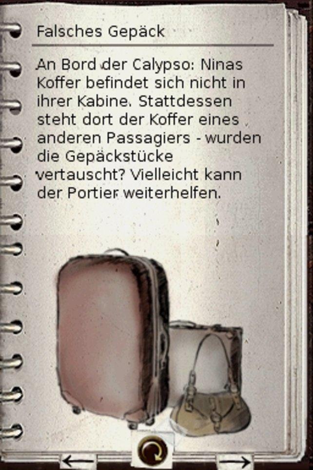 Das Tagebuch gibt kleine Hinweise.