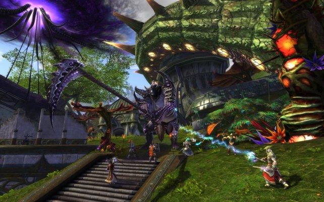 In Rift gibt es eine Vielzahl unterschiedlicher Gegner.