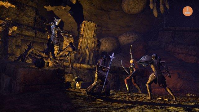 Missionen absolviert ihr entweder alleine oder mit weiteren Online-Spielern.