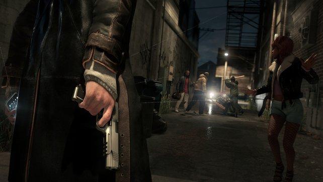Während Watch Dogs kämpft ihr einmal gegen Verbrecher und verbündet euch ein anderes Mal mit ihnen.