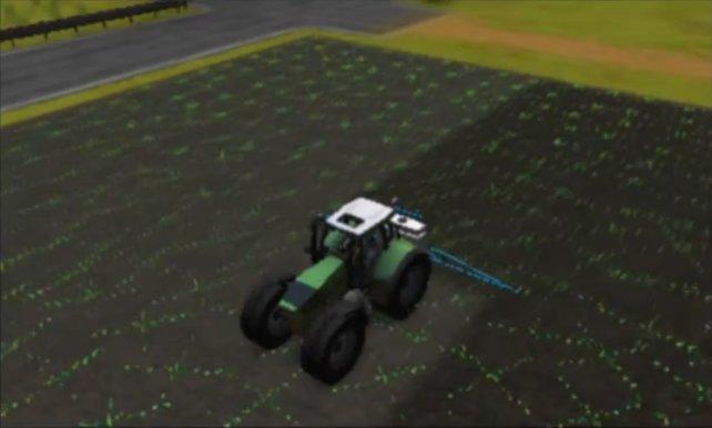 Im Landwirtschafts Simulator für 3DS fuhrwerkt ihr munter durch eure Felder.
