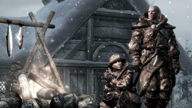 Die Skaal leben schon lange auf Solstheim. Dass ihr selbst einen spielen könnt, bezweifeln wir bisweilen.