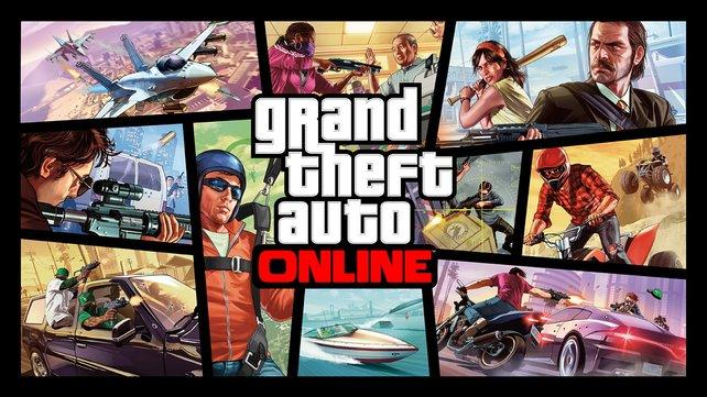 GTA Online bietet euch beinahe alle Freiheiten, die ihr auch in der Kampagne von GTA 5 habt.