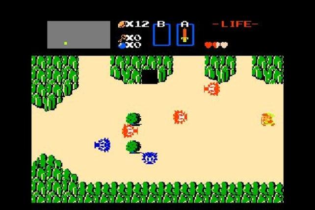 Schon vor 25 Jahren ist Held Link unterwegs zu seinem Widersacher Ganon.