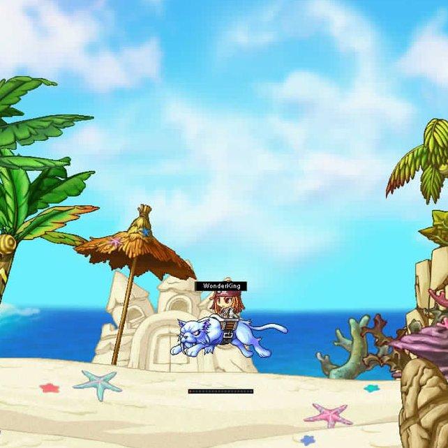Mit tierischem Reittier durch 2D-Landschaften: Das ist Wonderking!
