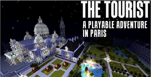 """In """"The Tourist"""" verschlägt es euch in die französische Hauptstadt, die seltsamerweise menschenleer zu sein scheint."""