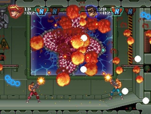 Wer auf Action und Pixel-Grafik steht, ist mit Contra Rebirth gut bedient.
