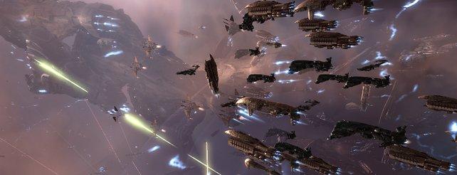 Eve Online: Rekord-Massenschlacht mit 4.070 Spielern