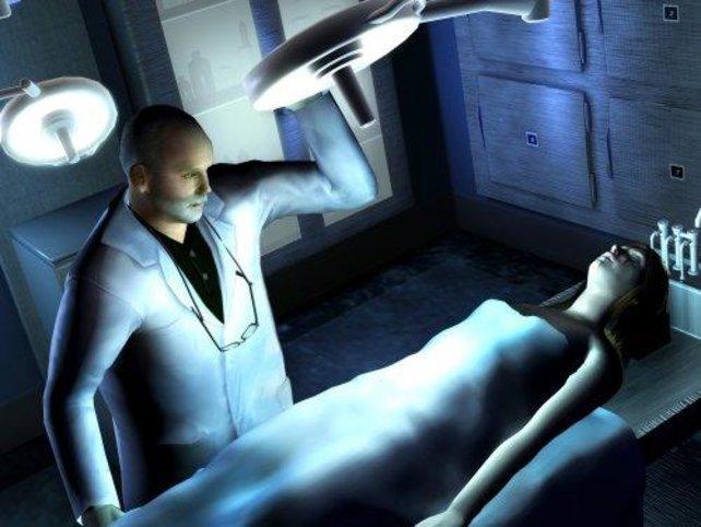 Dr. Robbins in seinem Element - dem Leichenschauhaus