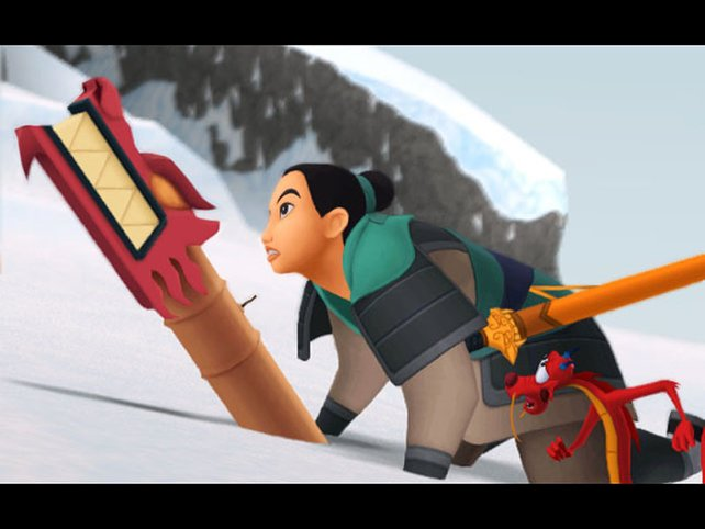 Auch in die Welt von Mulan könnt ihr eintauchen.