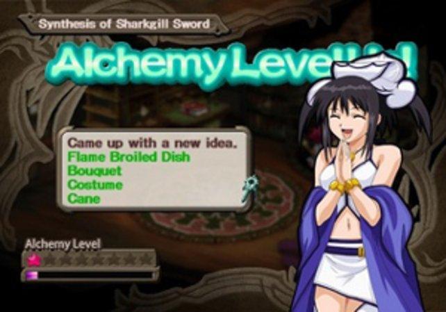 Der Alchemiebildschirm