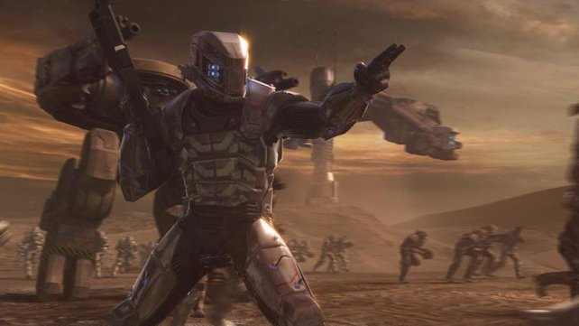 Protagonist Vega befehligt seine Truppen