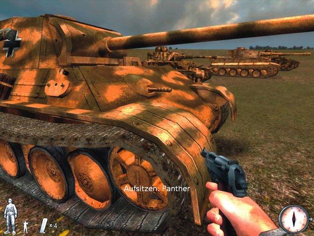 Der deutsche Panther Panzer, die Kriegswaffe schlecht hin.