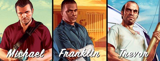 GTA 5: Nicht alle Charaktere von Anfang an spielbar