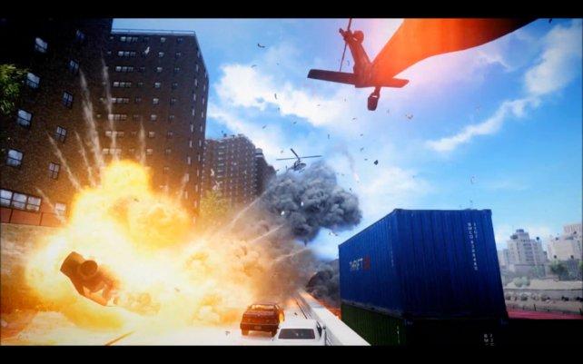 Dank dieser Mod sehen die Explosionen in GTA 4 wesentlich opulenter aus.
